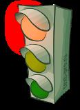 светофор, который увидели гномики